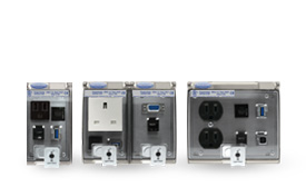 Low Profile Panel Interface Connectors